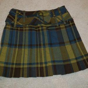 Karen millen plaid skirt size 4